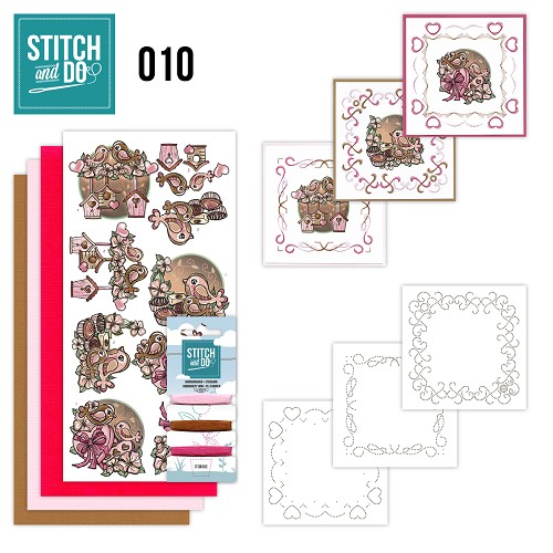 Stitch and Do 10 - Moederdag