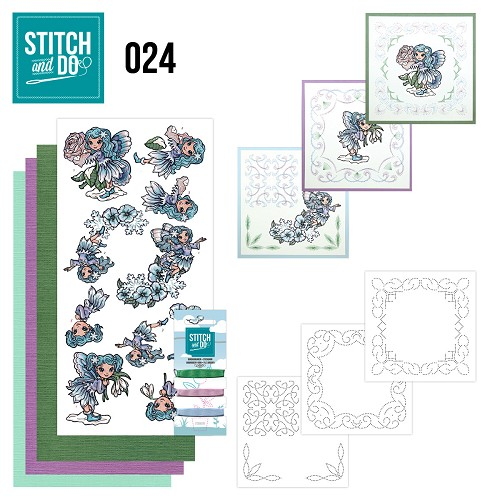 Stitch and Do 24 - Fairies