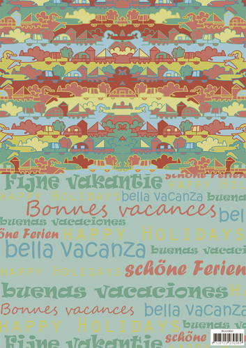 Background sheets - Yvonne Creations - Summer Holiday