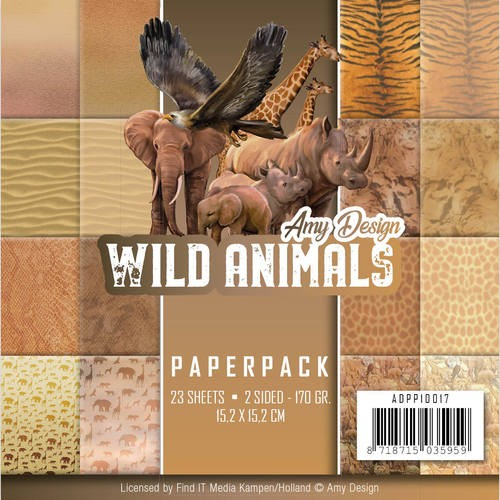Paperpack - Amy Design - Wild Animals