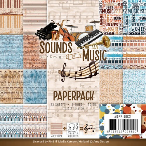 Paperpack - Amy Design - Sounds of Music