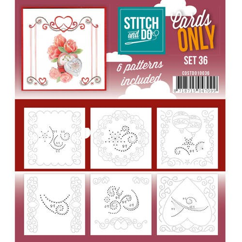 Cards only stitch 36