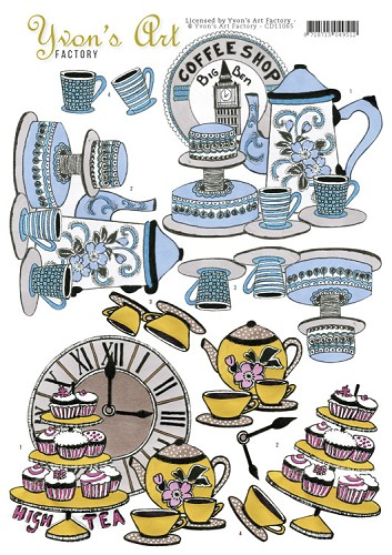 Yvon's Art Factory - High Tea