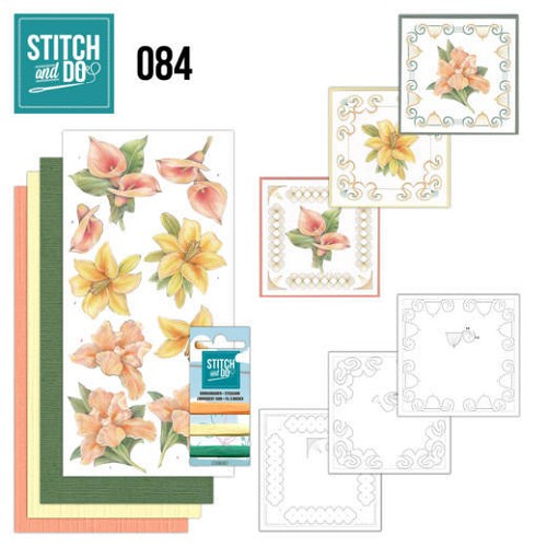 Stitch and Do 84 - Yellow Flowers