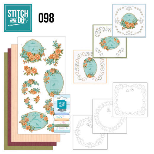 Stitch and Do 98 Floral Birdcages