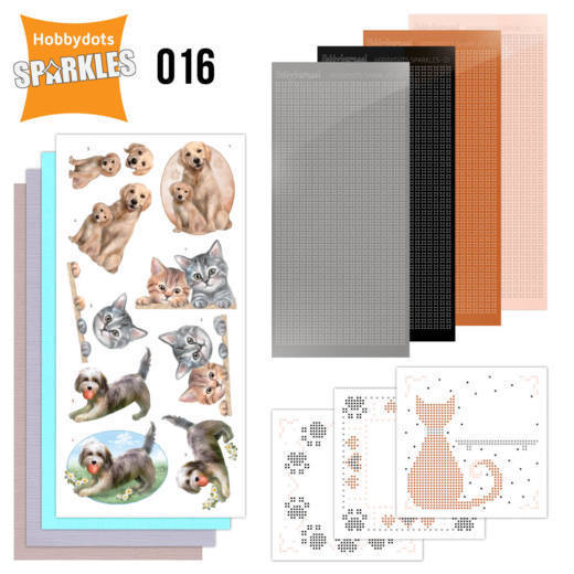 Sparkles Set 16 - Cats & Dogs