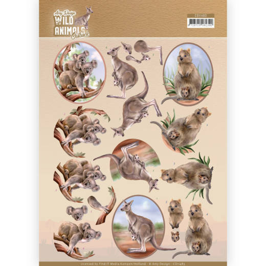 Knipvel Amy Design - Wild Animals Outback