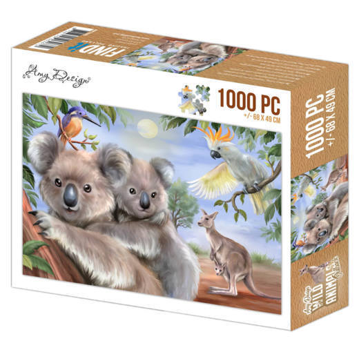 Jigsaw puzzle 1000 pc - Amy Design - Wild Animals Outback