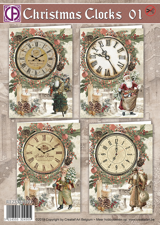 Christmas Clocks 01