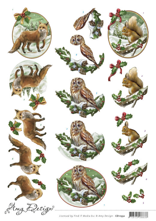 Amy Design - Christmas Animals