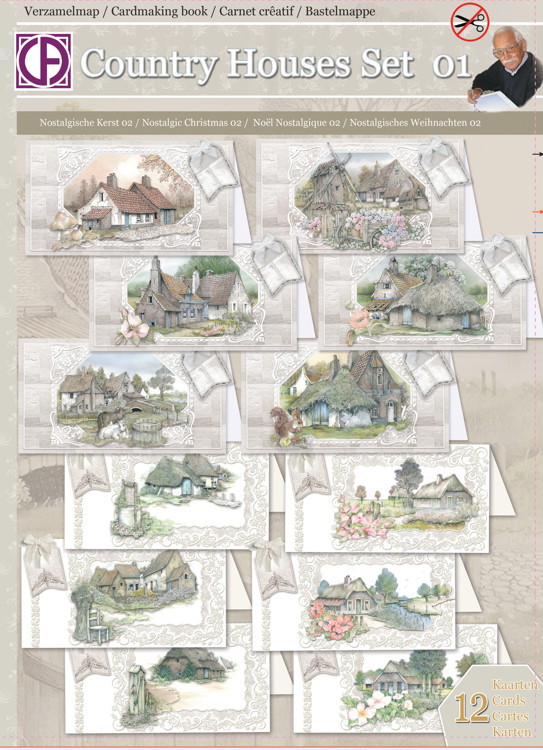 Country Houses Set 01