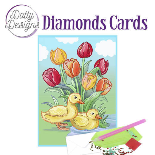 Dotty Designs Diamond Cards - Ducks