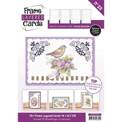 Frame Layered Cards Boeken